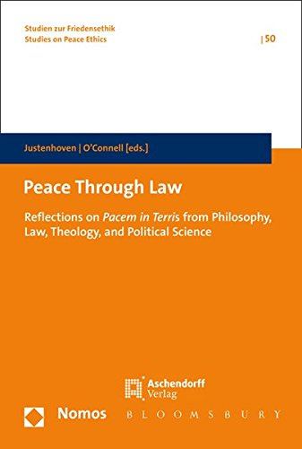 Peace Through Law: Heinz-Gerhard Justenhoven