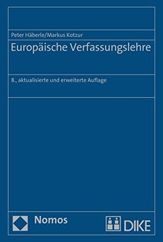 9783848721214: Europäische Verfassungslehre