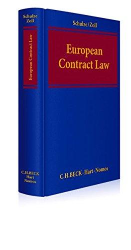 9783848721948: European Contract Law