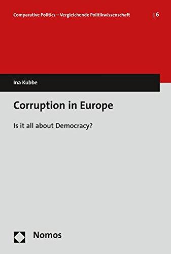 9783848723478: Corruption in Europe: Is It All about Democracy? (Comparative Politics - Vergleichende Politikwissenschaft)