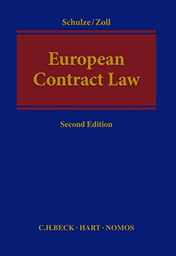 9783848745326: European Contract Law