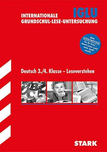 9783849000035: Bildungsstandards Grundschule / Deutsch 3. / 4. Klasse - Leseverstehen: IGLU - Internationale Grundschul-Lese-Untersuchung