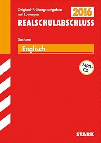 9783849009793: Training Abschlussprüfung Englisch 2015 mit MP3-CD Mittelschule Sachsen / Realschulabschluss: Mit den Original-Prüfungsaufgaben mit Lösungen