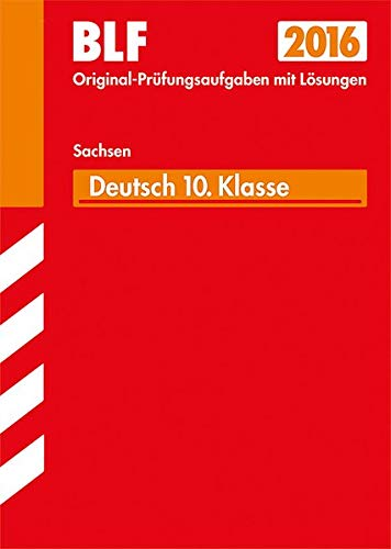 9783849009878: Besondere Leistungsfeststellung Gymnasium Deutsch - 10. Klasse Sachsen