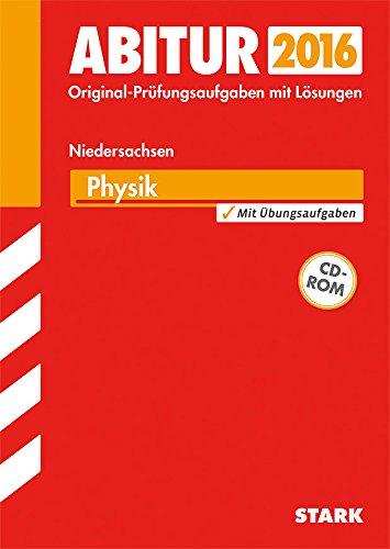 9783849010492: Abitur-Prüfungsaufgaben Physik Zentralabitur 2015 Gymnasium Niedersachsen