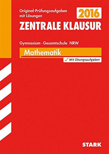 9783849010867: Zentrale Klausur Mathematik ZKL 2015 Nordrhein-Westfalen