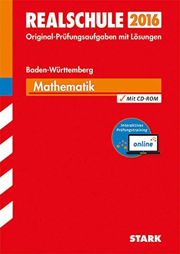 9783849011468: Abschluss-Prüfungsaufgaben Mathematik 2015 Gesamtpaket inkl. MyMathLab Vollversion. Realschule Baden-Württemberg. Mit Lösungen: Das günstige ... zum Online-Prüfungstraining MyMathLab