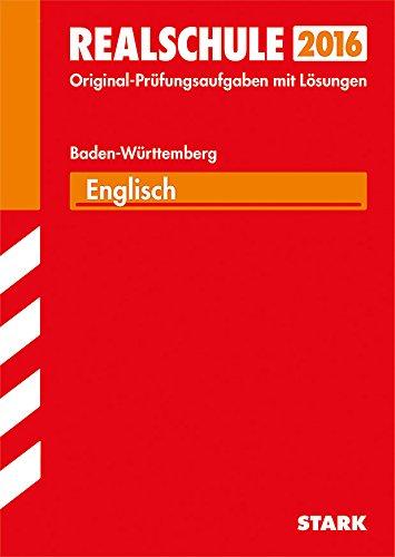 9783849011512: Abschluss-Prüfungsaufgaben Englisch 2015 Realschule Baden-Württemberg. Mit Lösungen