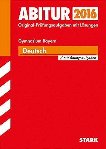 9783849012588: Abiturprüfung Bayern - Deutsch