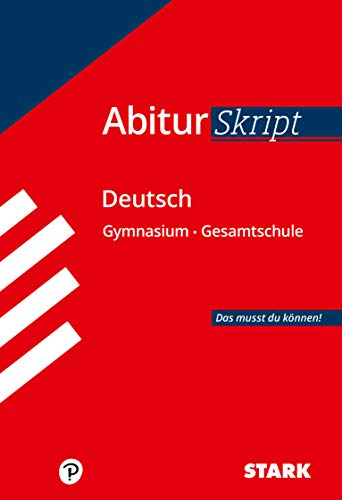 9783849012779: Abitur-Training Deutsch Skript Deutsch: Das musst du k�nnen!