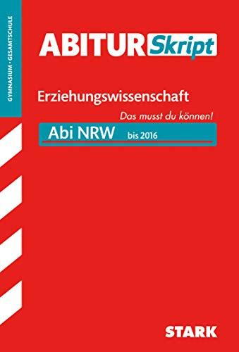 9783849012854: Abiturskript Erziehungswissenschaft