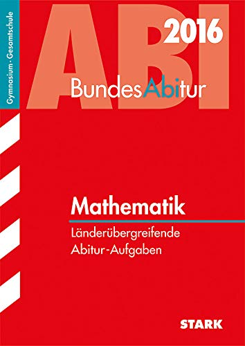 9783849016890: BundesAbitur Mathematik Länderübergreifende Aufgaben