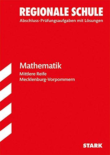 9783849017132: Abschlussprüfung Regionale Schule Mecklenburg-Vorpommern - Mathematik Mittlere Reife