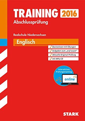 9783849017668: Training Abschlussprüfung Realschule Niedersachsen - Englisch mit MP3-CD - inkl. Online-Prüfungstraining