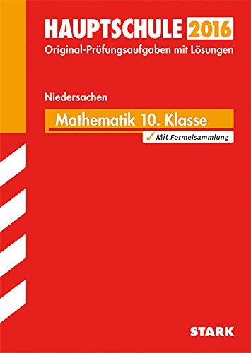 9783849017712: Abschlussprüfung Hauptschule Niedersachsen Mathematik 10. Klasse