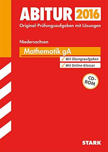 9783849017781: Abiturprüfung Niedersachsen - Mathematik GA