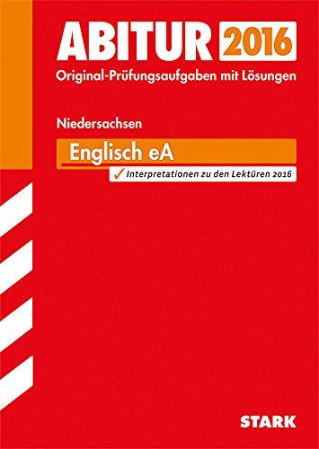 9783849017811: Abiturprüfung Niedersachsen - Englisch EA