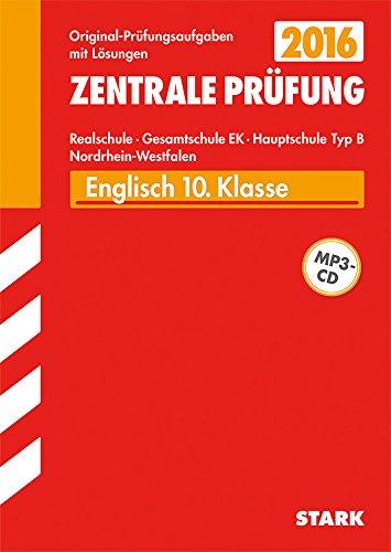 9783849018009: Zentrale Prüfung Realschule/Hauptschule Typ B NRW - Englisch mit CD