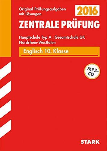 9783849018146: Zentrale Prüfung Hauptschule Typ A NRW - Englisch