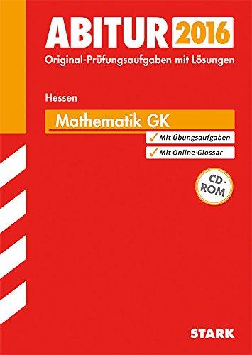 9783849018610: Abiturprüfung Hessen - Mathematik GK, mit CD