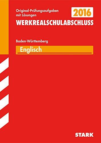 9783849018986: Abschlussprüfung Werkrealschule Baden-Württemberg - Englisch 10. Klasse