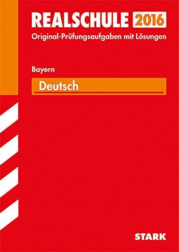 9783849019273: Abschlussprüfung Realschule Bayern - Deutsch