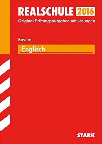 9783849019327: Abschlussprüfung Realschule Bayern - Englisch