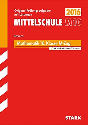 9783849019655: Abschlussprüfung Mittelschule M10 Bayern - Mathematik