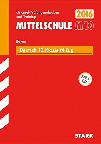 9783849019693: Abschlussprüfung Mittelschule M10 Bayern - Deutsch