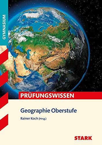 9783849019976: Prüfungswissen Geographie Oberstufe