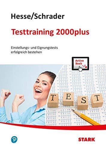 9783849020118: Hesse/Schrader: Testtraining 2000plus + ActiveBook