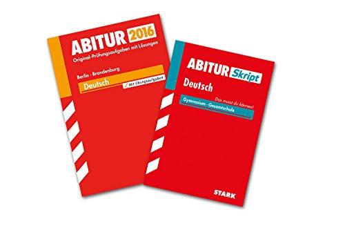 9783849020606: STARK Bundle Abiturprüfung - Deutsch 1 Berlin/Brandenburg