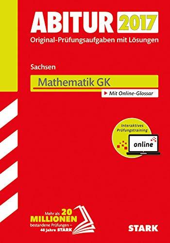 9783849022112: Abiturprüfung Sachsen 2017 - Mathematik GK