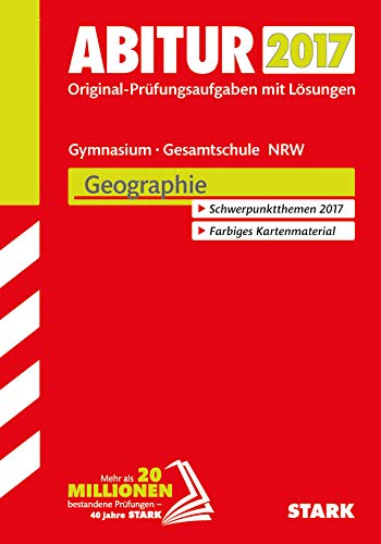 9783849023324: Abiturprüfung Nordrhein-Westfalen 2017- Geographie GK/LK