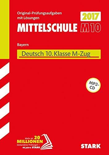 9783849024918: Abschlussprüfung Mittelschule M10 Bayern 2017 - Deutsch