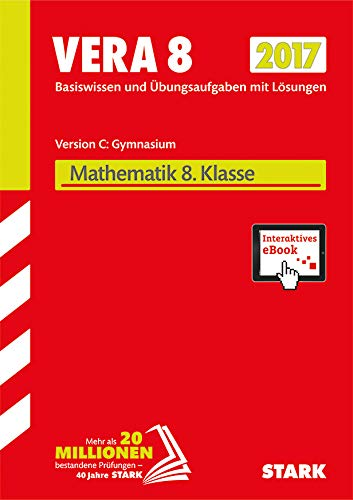 9783849025113: VERA 8 Gymnasium 2017 - Mathematik Version C + ActiveBook