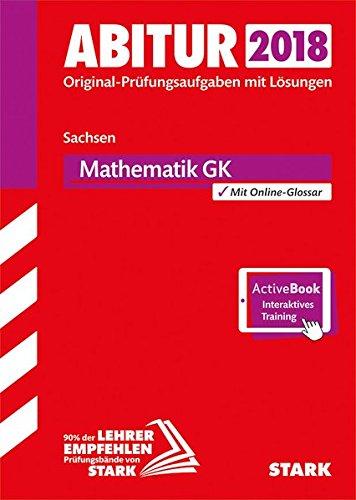 9783849027001: Abiturprüfung SN 2018 - Mathematik GK