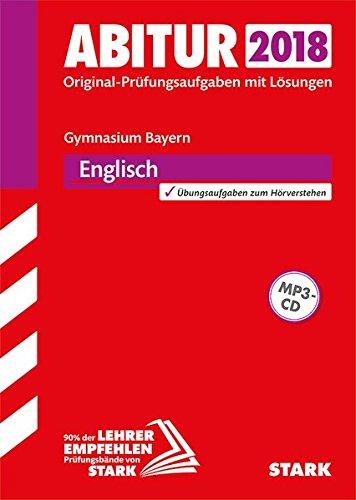 9783849029739: Abiturprüfung Bayern 2018 - Englisch