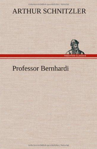 9783849103125: Professor Bernhardi