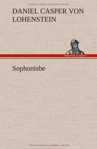 9783849104948: Sophonisbe