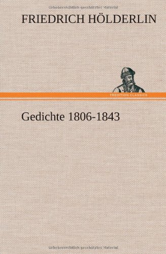 9783849106584: Gedichte 1806-1843