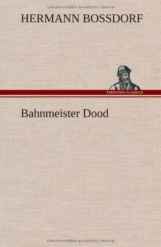 9783849108946: Bahnmeister Dood