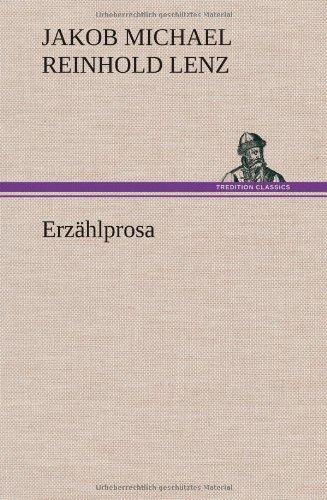 9783849109639: Erz�hlprosa