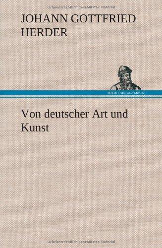 9783849110338: Von deutscher Art und Kunst