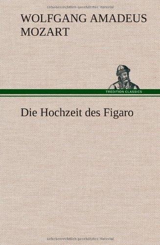 9783849116309: Die Hochzeit des Figaro