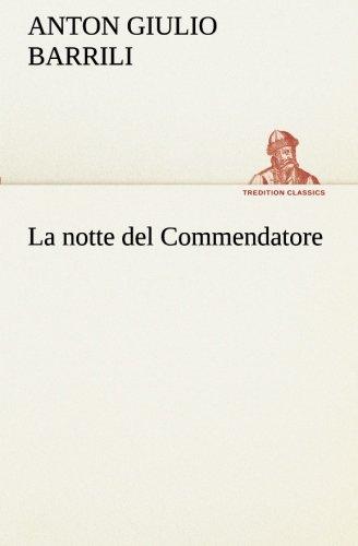 9783849122669: La notte del Commendatore