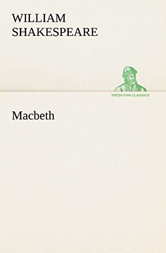 9783849126858: Macbeth (TREDITION CLASSICS) (French Edition)