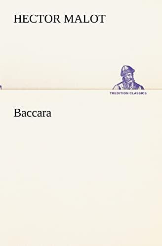 9783849133900: Baccara