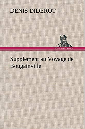 9783849136277: Supplement au Voyage de Bougainville (French Edition)