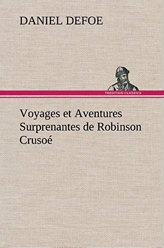 9783849141059: Voyages et Aventures Surprenantes de Robinson Crusoé (French Edition)